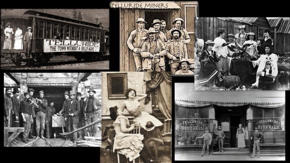 Historic Telluride Montage